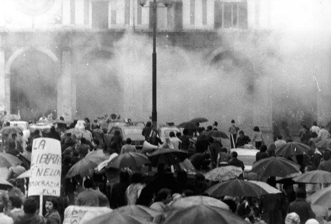 Strage di Piazza della Loggia, Brescia: il momento dell'esplosione