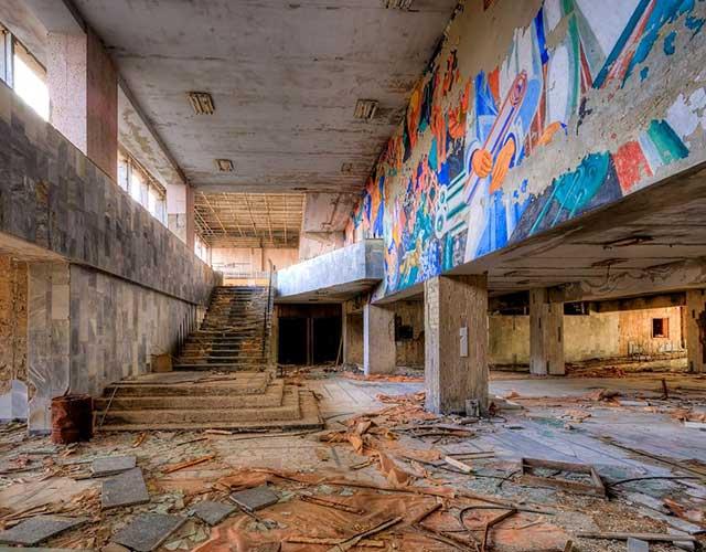 Palazzo della Cultura di Prypiat visitare Chernobyl
