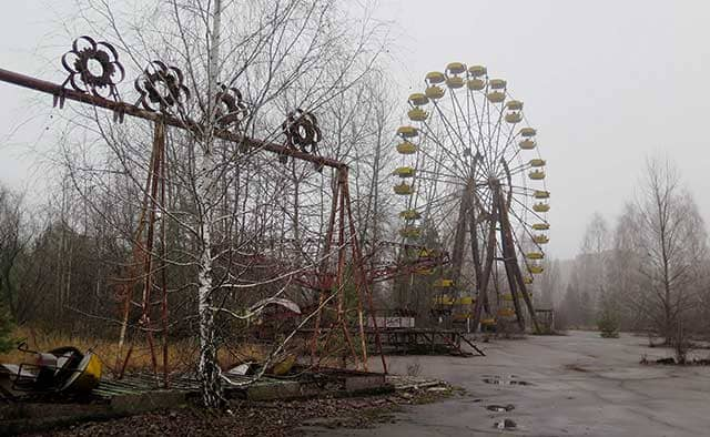 visitare Chernobyl luna park di Prypiat