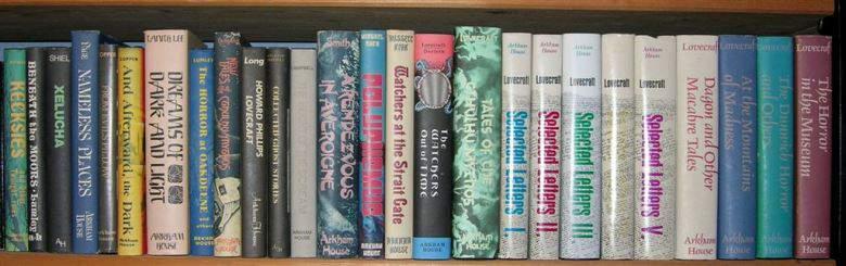 I libri di Lovecraft