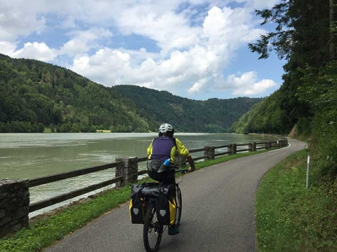 ciclovia del Danubio Haibach