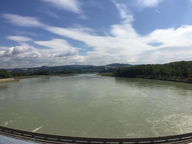 Ciclovia del Danubio Ottensheim