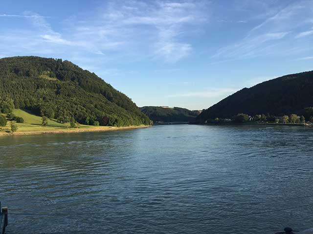 Ciclovia del Danubio Grein