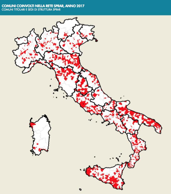 sistema di accoglienza dei migranti in italia