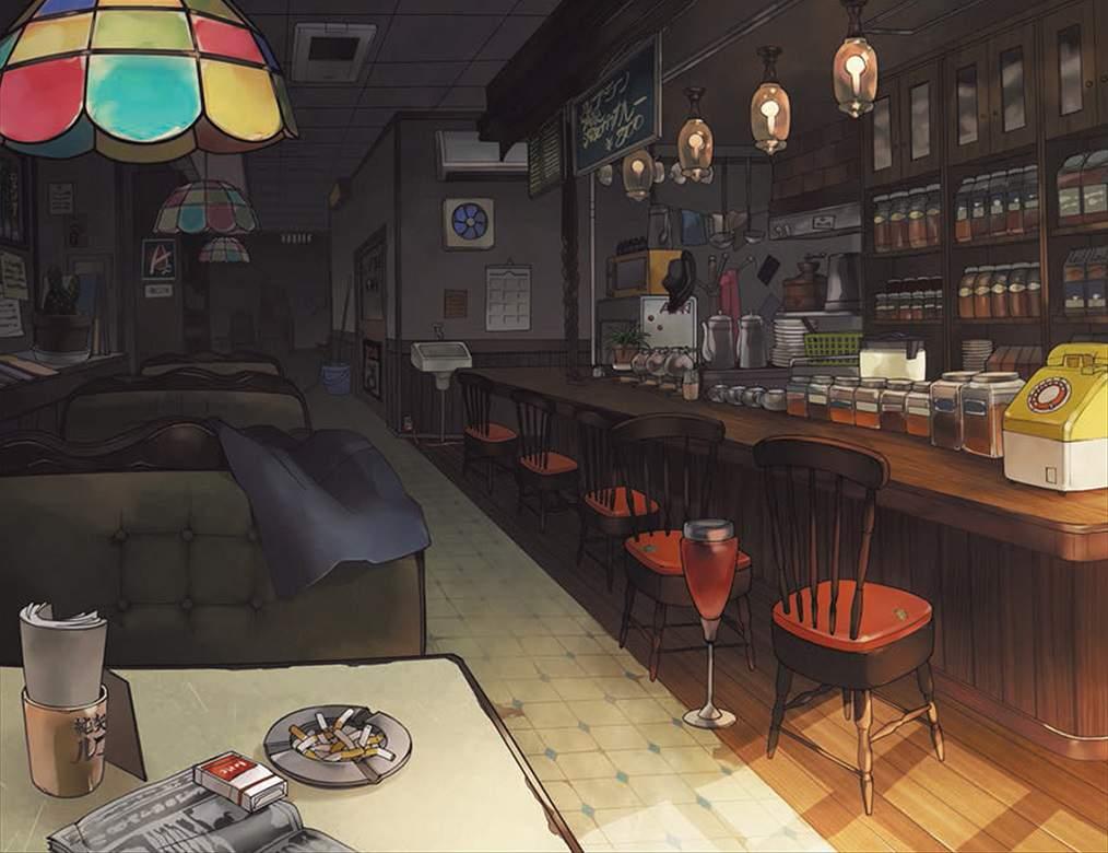 Il bar di Persona 5