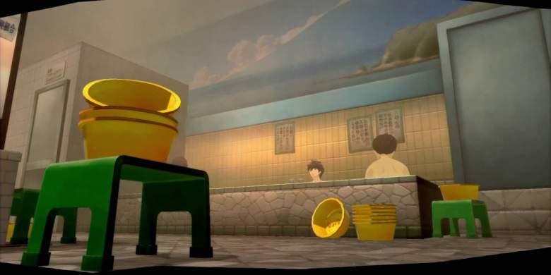 Il bagno pubblico di Persona 5