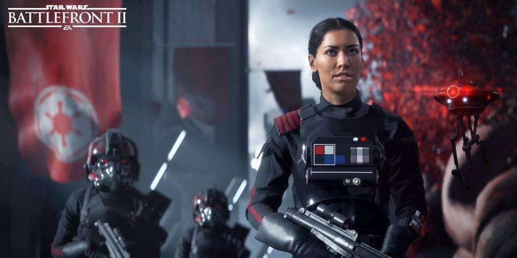 Iden Versio, protagonista di Star Wars Battlefront 2