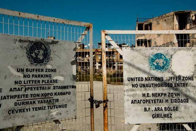 Viaggio a Cipro muro