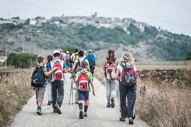 Viaggi a piedi Cammino di San Tommaso