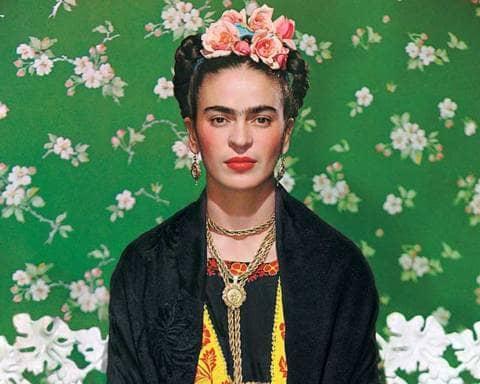 Froda Kahlo foto di Nickolas Muray
