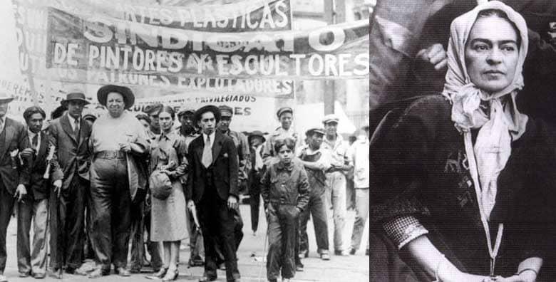 Frida Kahlo manifestazione