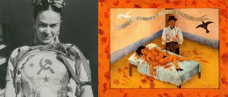 Qualche piccola punzecchiatura Frida Kahlo