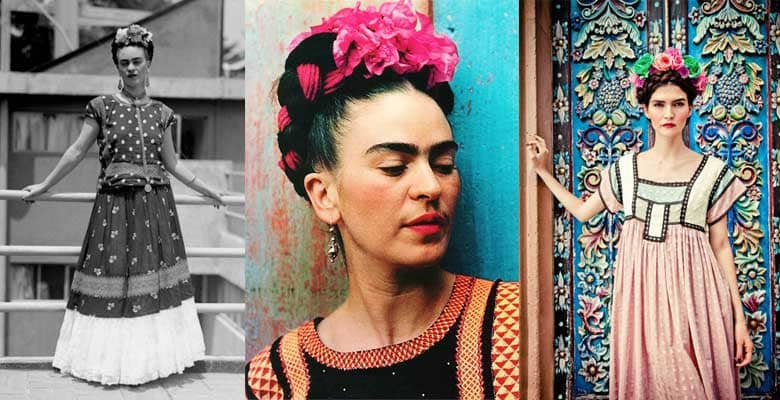 Frida Kahlo look