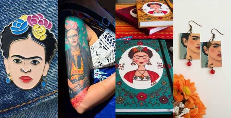 Frida Kahlo icona prodotti