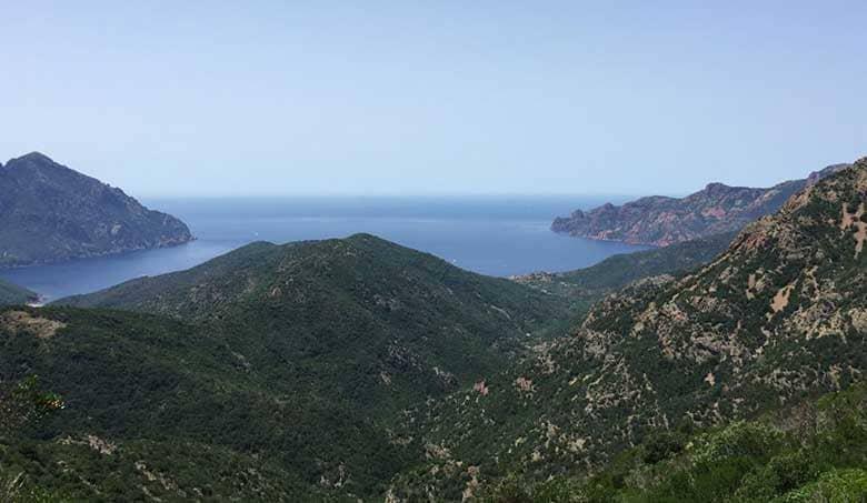 Corsica in bici da Porto a Calvi