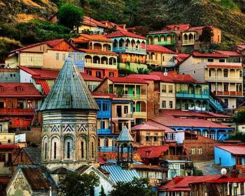 Viaggio Tbilisi Georgia