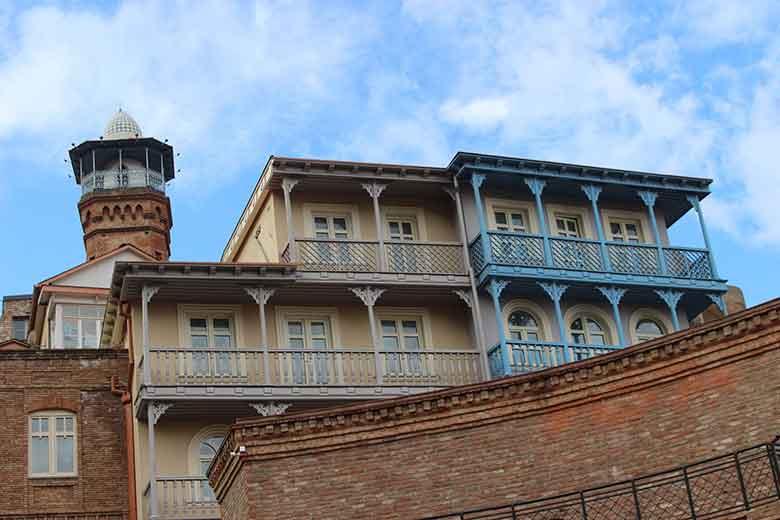 Tbilisi Georgia balconi