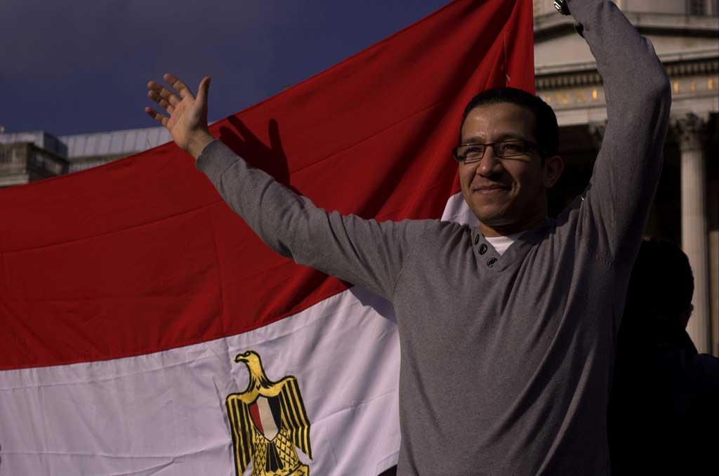 Protesta contro il regime in Egitto di al Sisi
