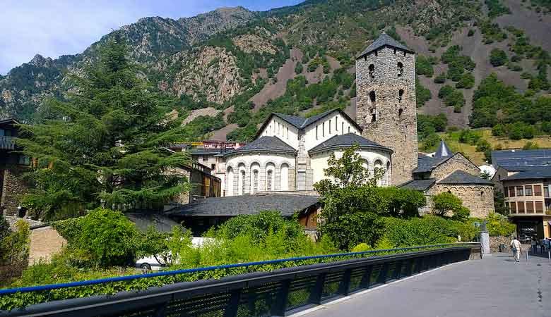 Andorra Esglèsia di Sant Esteve