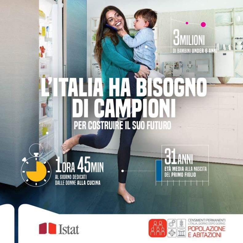 Grafica della campagna Istat