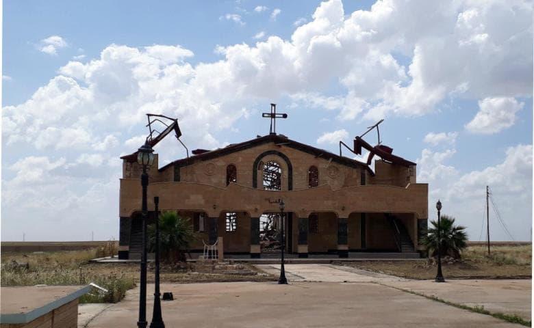 Una chiesa di Mosul visitata dal Pimpa