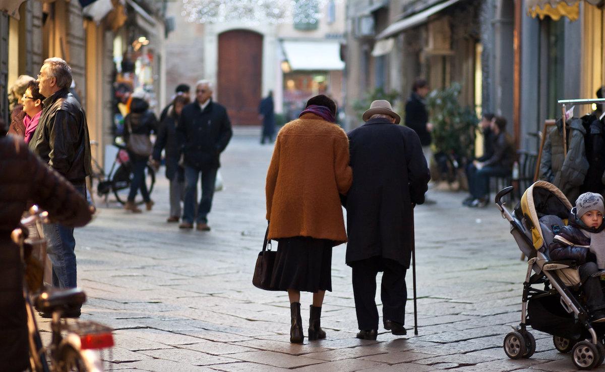 invecchiamento popolazione italia