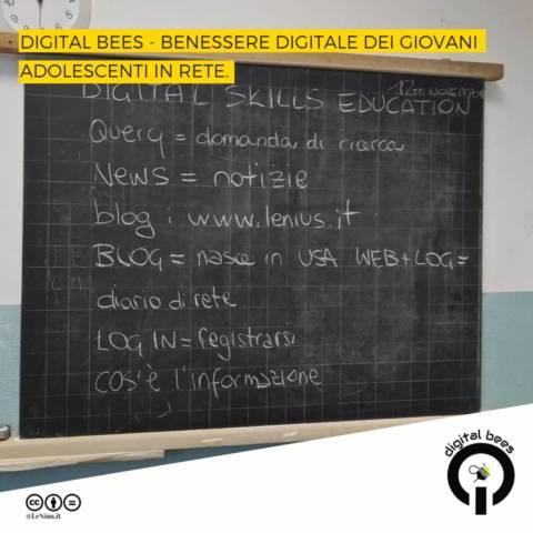 digital skills education con il progetto digital bees