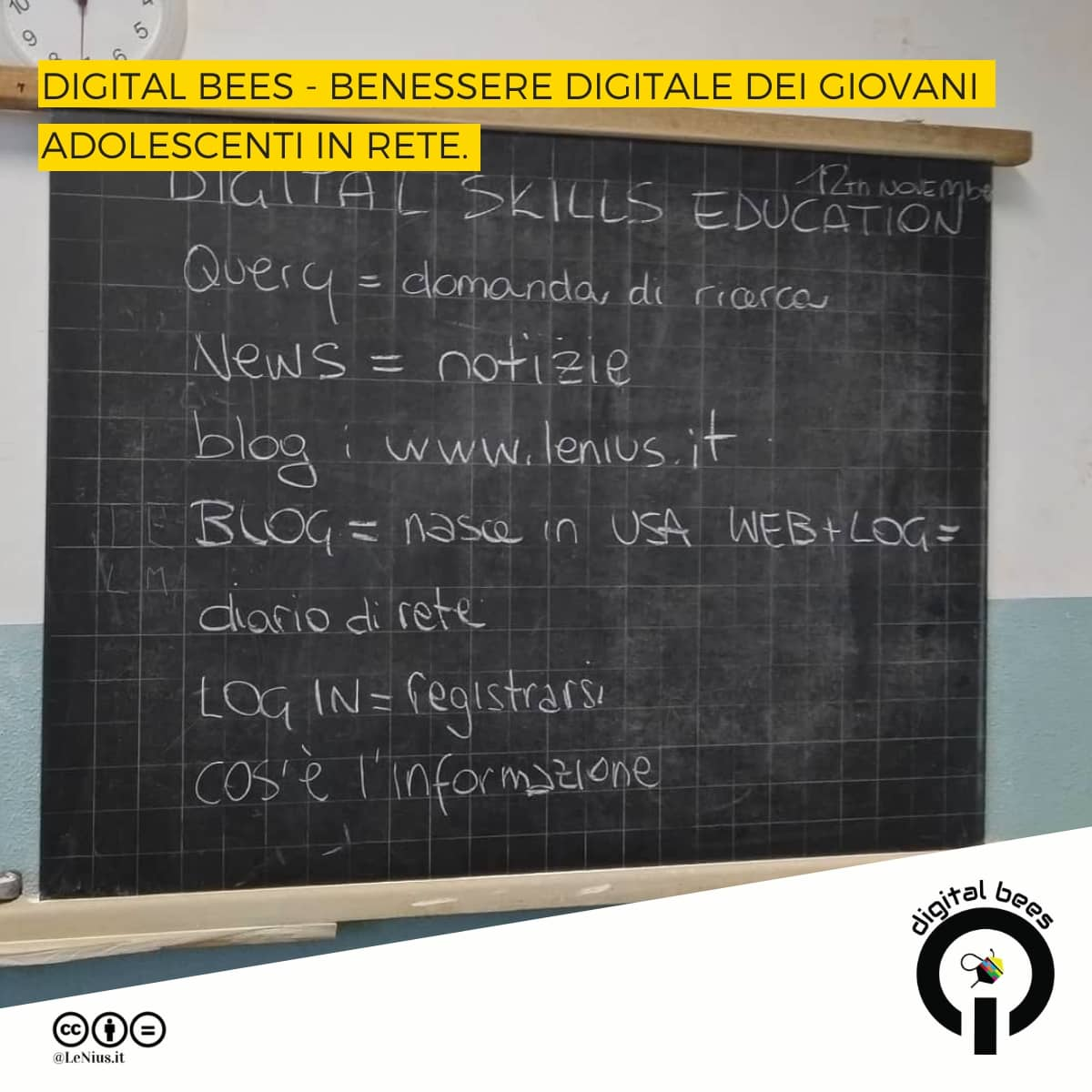 digital skills education con il progetto digital bees