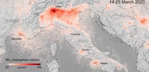 effetti del lockdown sul clima
