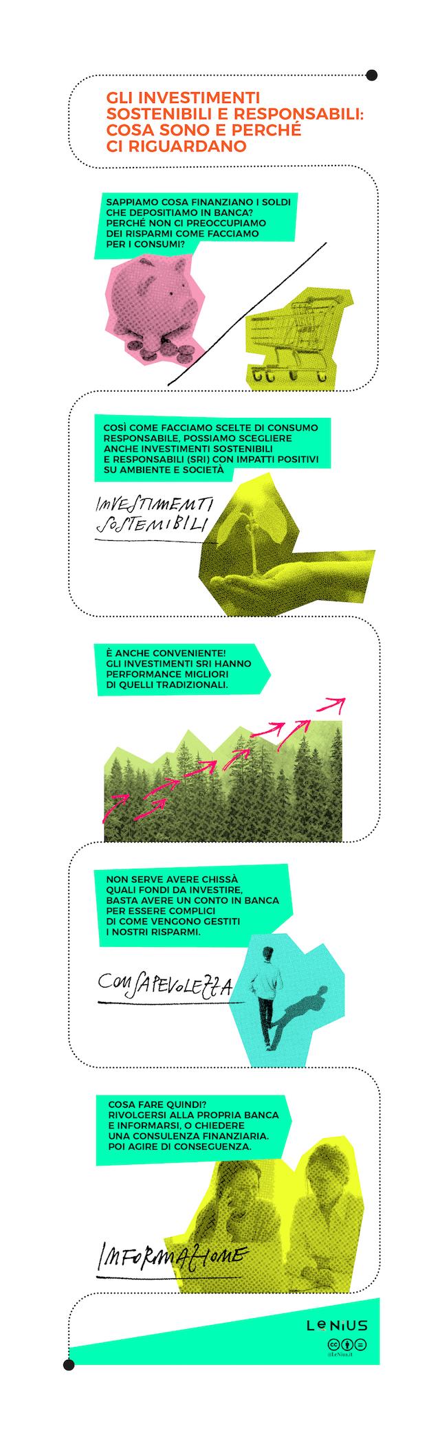 cosa sono gli investimenti sostenibili e responsabili